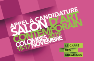Appel à candidatures pour le Salon d'art contemporain de Colombes.